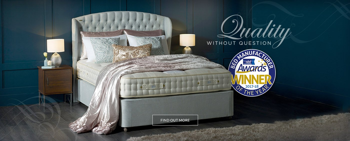 Duvalay Hilary Devey Collection wins National Bed Federation Bed Manufacturer of the Year